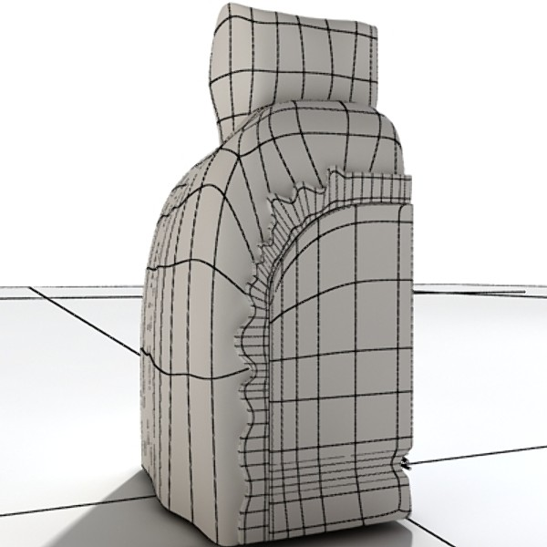 3D Model Dental Implant ( 53.9KB jpg by VKModels )