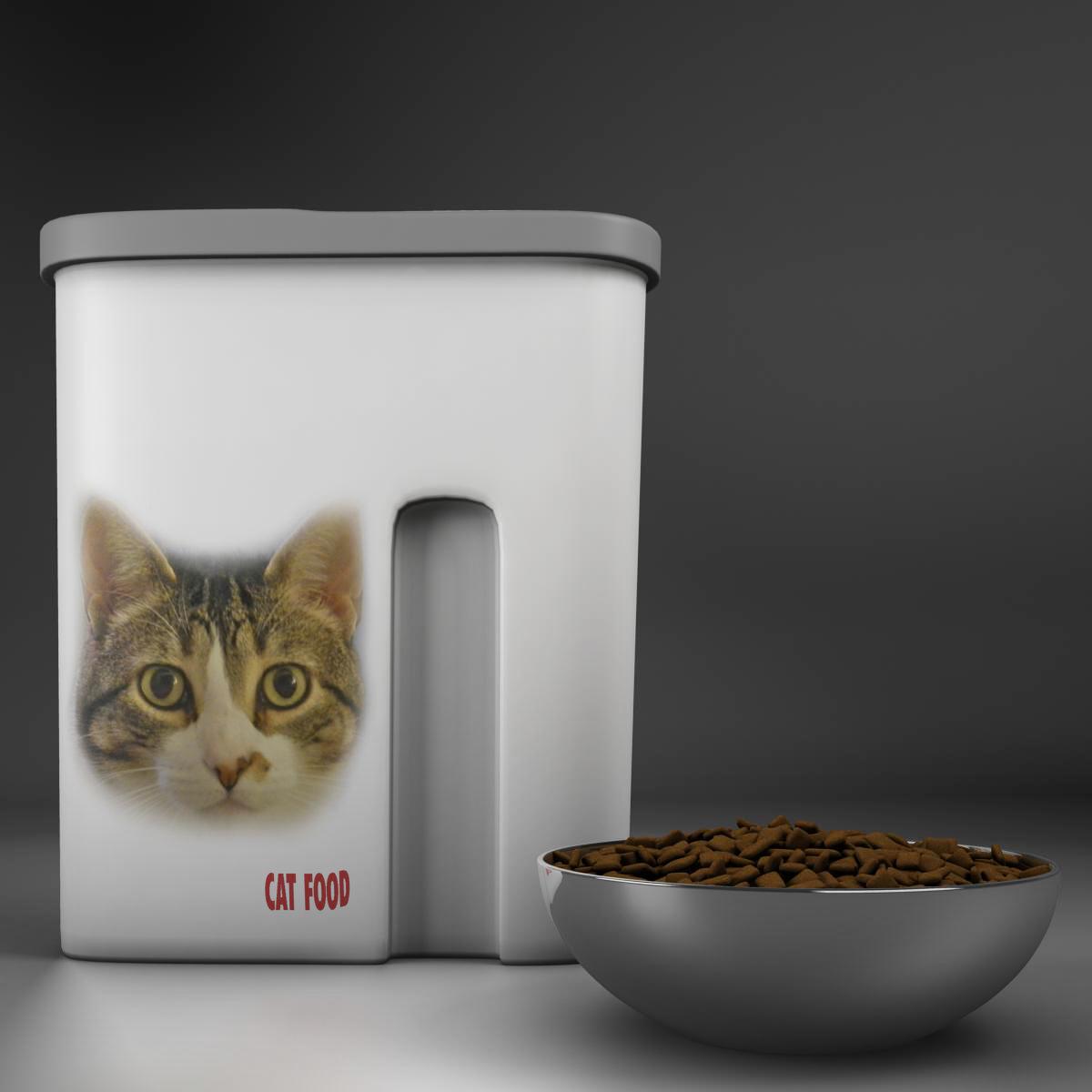 kaķu barība 3d modelis 3ds max fbx c4d ma mb obj 159456