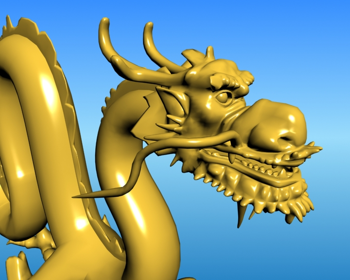 chinese dragon 03 3d model 3ds max fbx obj 124587