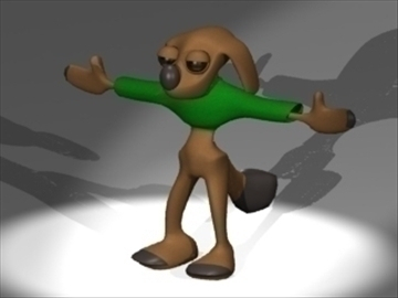 dog boy 3d model 3ds dxf lwo 80800