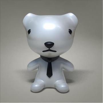 mouse toy character 3d model 3ds max fbx obj 107078