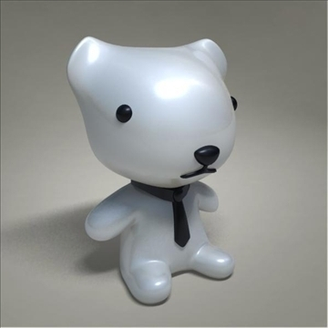 mouse toy character 3d model 3ds max fbx obj 107079