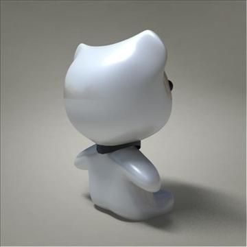 mouse toy character 3d model 3ds max fbx obj 107080