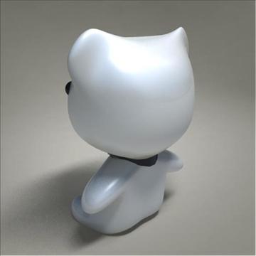 mouse toy character 3d model 3ds max fbx obj 107081