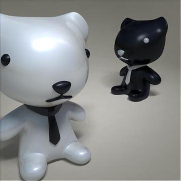 mouse toy character 3d model 3ds max fbx obj 107082