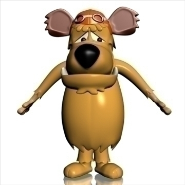 muttley 3d model 3ds max dxf obj 104967