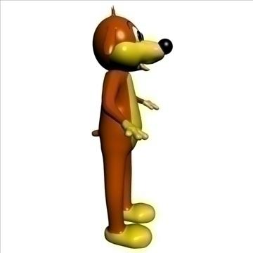 pif le chien 3d model 3ds max 103143