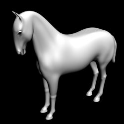 Horse 3D ( 37.81KB jpg by emiliogallo )