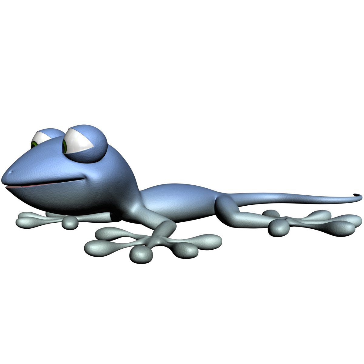 crtani gecko namješteni 3d model 3ds max fbx obj 152622