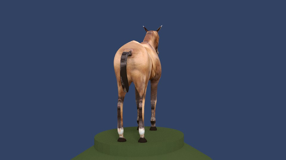 horse v4 3d model 3ds fbx blend dae obj 164654
