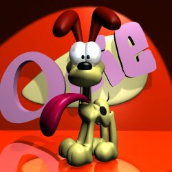 Odie 3D RIGGED ( 266.15KB jpg by supercigale )
