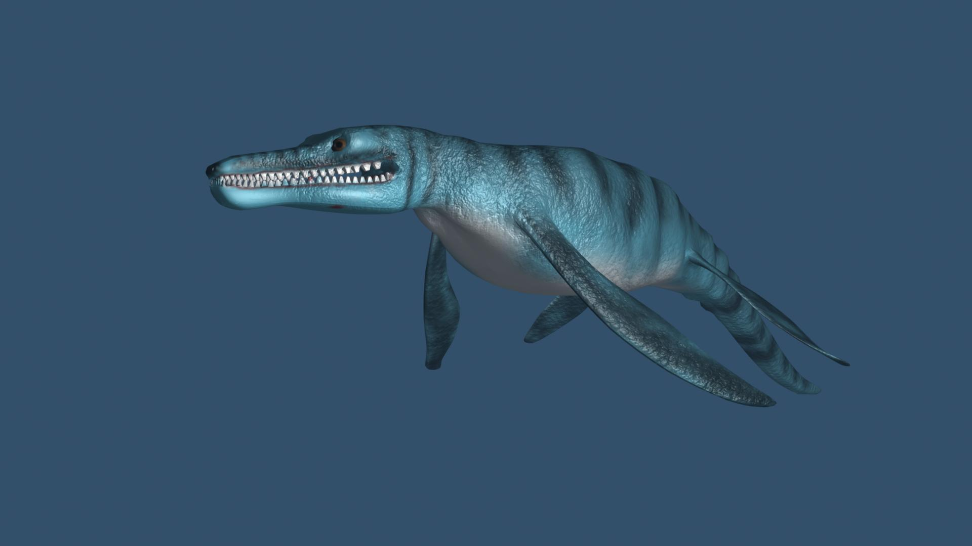 pliosaurus model 3d ma mb 162296