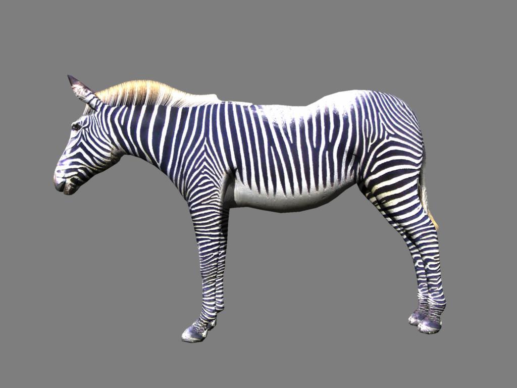 zebra v2 3d modelis 3ds obj 132780