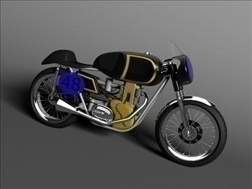 ajs 7r caf racer 1954 3d model 3ds max c4d obj 100723