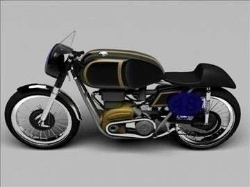 ajs 7r caf racer 1954 3d model 3ds max c4d obj 100724
