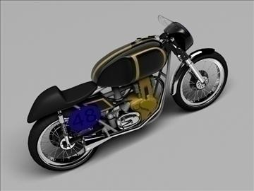 ajs 7r caf racer 1954 3d model 3ds max c4d obj 100725