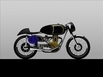 ajs 7r caf racer 1954 3d model 3ds max c4d obj 100728