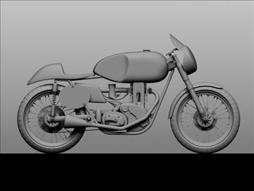ajs 7r caf racer 1954 3d model 3ds max c4d obj 100732
