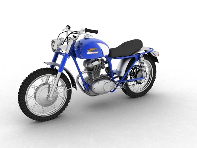 sgrialwr ducati 250 1964 3d model 3ds max fbx c4d obj 154996