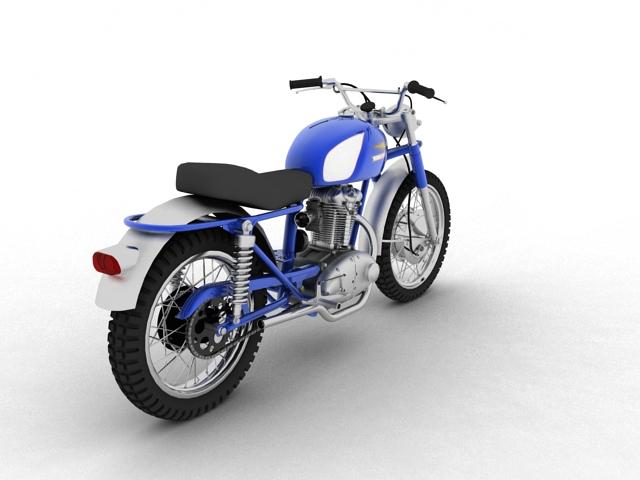 sgrialwr ducati 250 1964 3d model 3ds max fbx c4d obj 155000
