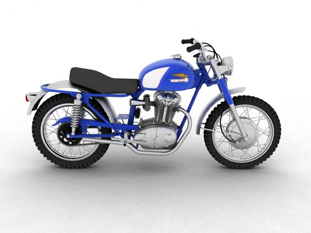sgrialwr ducati 250 1964 3d model 3ds max fbx c4d obj 155001