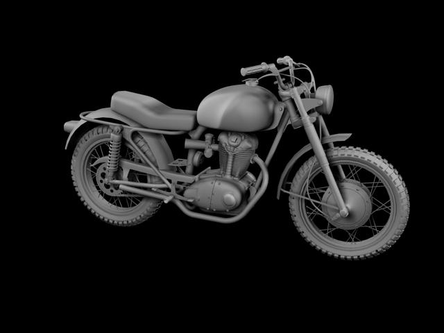 sgrialwr ducati 250 1964 3d model 3ds max fbx c4d obj 155002