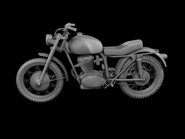 sgrialwr ducati 250 1964 3d model 3ds max fbx c4d obj 155004