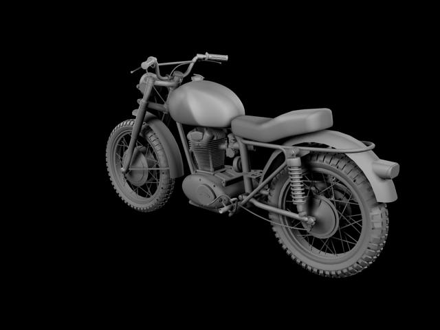 sgrialwr ducati 250 1964 3d model 3ds max fbx c4d obj 155005
