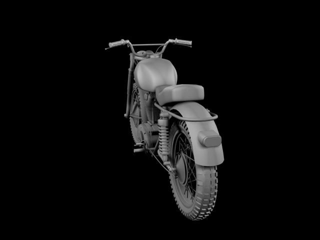 sgrialwr ducati 250 1964 3d model 3ds max fbx c4d obj 155006