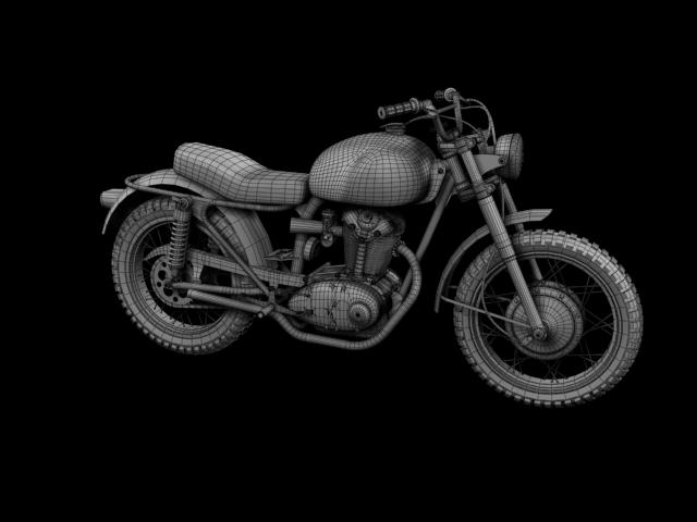 sgrialwr ducati 250 1964 3d model 3ds max fbx c4d obj 155009