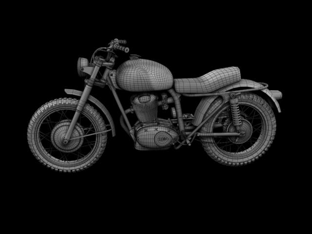 sgrialwr ducati 250 1964 3d model 3ds max fbx c4d obj 155011