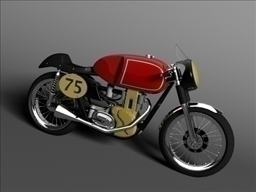 matchless g50 1954 3d model 3ds max c4d obj 100713