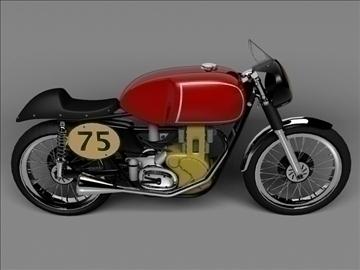 matchless g50 1954 3d model 3ds max c4d obj 100714