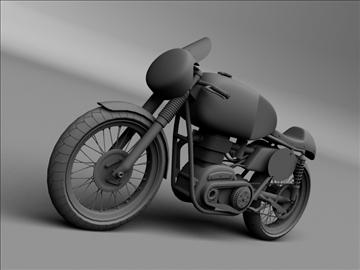 matchless g50 1954 3d model 3ds max c4d obj 100716