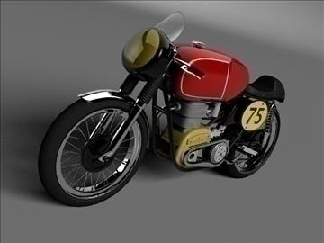 matchless g50 1954 3d model 3ds max c4d obj 100718