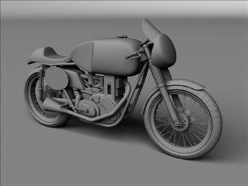 matchless g50 1954 3d model 3ds max c4d obj 100722