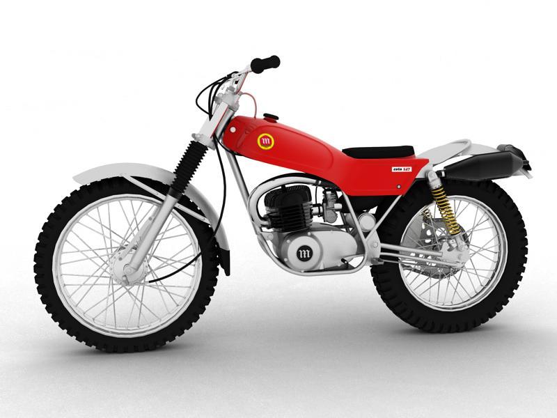 montesa cota 247 1970 3d model 3ds max dxf fbx c4d obj 156008