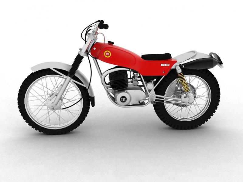 montesa cota 247 1970 3d model 3ds max dxf fbx c4d obj 156010