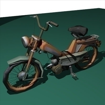 moped 3d model 3ds 97517