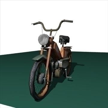 moped 3d model 3ds 97518