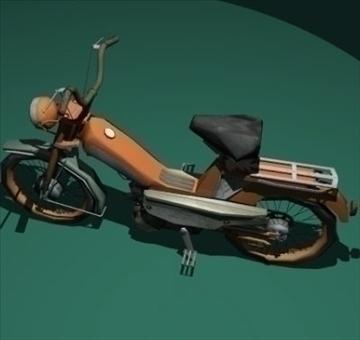 moped 3d model 3ds 97519