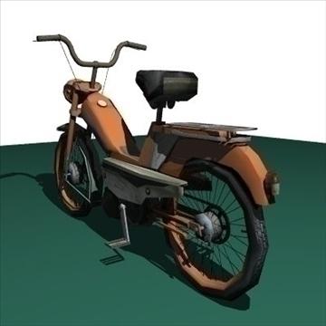 moped 3d model 3ds 97520