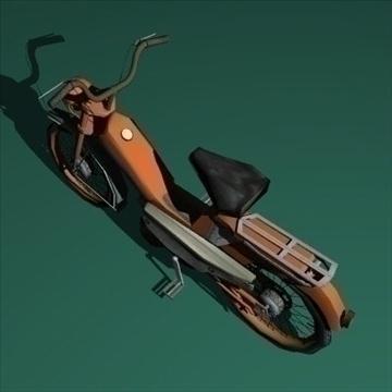 moped 3d model 3ds 97521