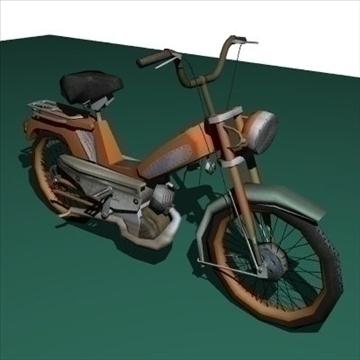 moped 3d model 3ds 97522