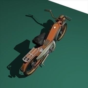 moped 3d model 3ds 97523