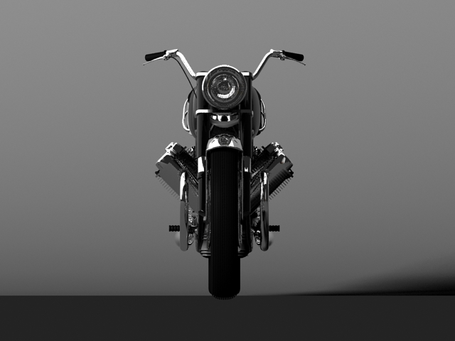 moto guzzi 850 california 1969 3d model 3ds max c4d obj 112335