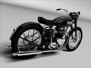 triumph 6t 1949 3d model 3ds max c4d obj 105299