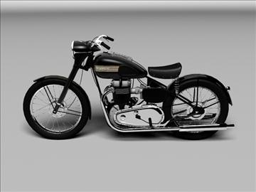 triumph 6t 1949 3d model 3ds max c4d obj 105300
