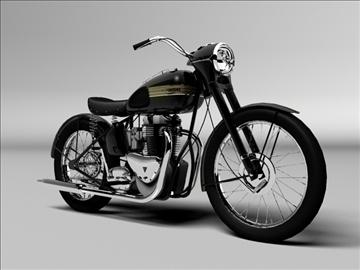 triumph 6t 1949 3d model 3ds max c4d obj 105301