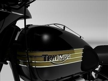 triumph 6t 1949 3d model 3ds max c4d obj 105303